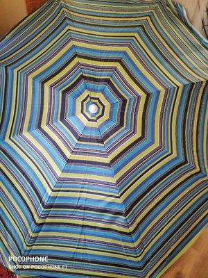 Пляжный зонт с системой ромашка, диаметр 1,7м, 2м, 2,2м, 2,5м