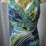 Платье легкое летнее сарафан George р.44 6573