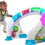 Fisher-Price развивающий центр для малышей. Новинка