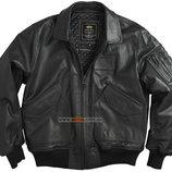 Кожаная куртка летная CWU-45/P alpha industries