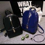 Городской рюкзак со стильной молнией