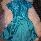 Бейсик танцевальный на 8-10 лет платье для танцев танцевальное