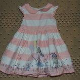 платье нарядное 9-12мес сток в отл 74-80см 2 шт в наличии.