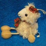 Овечка.овца.вівця.мягкая игрушка.мягка іграшка.мягкие игрушки.брелок.Richard Lang & Son