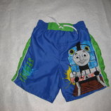 яркие шорты бордшорты на 3-5 лет, Томас