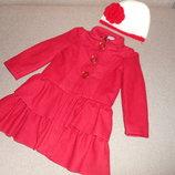 Пальто George и шапка 2-4 года
