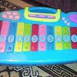 Большой стол пианино ксилофон