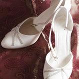 Свадебные туфли, кожа, безумно красивые Выбор женской обуви