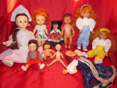 Куклы гдр,ссср,гонг конг.