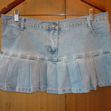 Юбка джинсовая с карманами фирмы Parisian р 14 евро 42