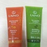 Laino Лено Гель для душа - для тела и волос Листья мяты Цитрусовая свежесть
