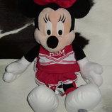 шикарная мягкая игрушка девчушка минни маус Minnie Mouse Disney Англия оригинал 48 см