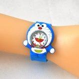 Часы детские slap-mini герои мультфильмов с гибким силиконовым ремешком яркие удобные
