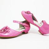 Есть другие модели Нарядные туфли розовые на девочку от2-10лет.