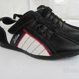 Туфли - кроссовки кожаные