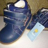 Новые ботинки р.22 -13,5см, р.23 -14см