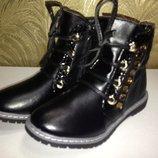 Новые осенние ботинки р.31 - 18.5 см
