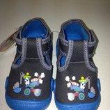 Новая текстильная обувь р.21 -12,7см