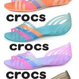 Босоножки Crocs Huarache Flat Women реплика, женские кроксы по лучшей цене