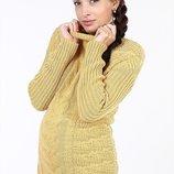 Шикарный свитер из тонкой, но при этом очень теплой овечьей шерсти