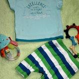 Футболочка 0-3 мес от Mcgregor в подарок к покупкам на малышей
