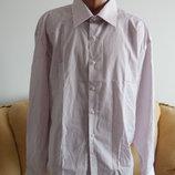 Мужская рубашка на длинный рукав Италия 48р.,49р.
