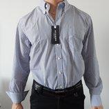 Мужская рубашка с длинными рукавами Италия Хлопок