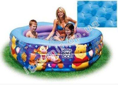 Детский надувной бассейн 57494 Intex 191x178x42 см надувное дно