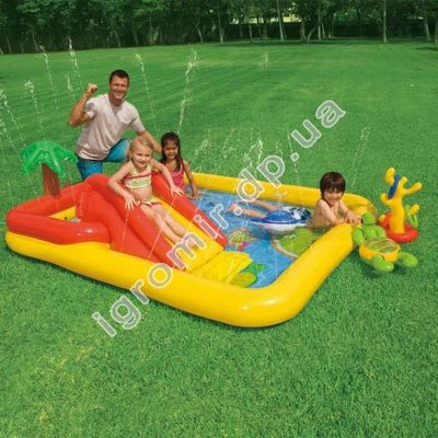 Игровой центр-бассейн Аквапарк Intex 57454
