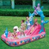 Игровой центр Принцесса с бассейном, горка 91051