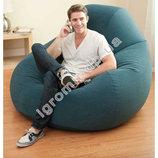 Надувное кресло-велюр Intex 68583
