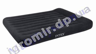 Кровать велюр 66768 с сумкой для хранения и переноски 137х191х30 см