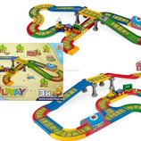 Железная дорога Kid Cars 4,1 м Wader Вадер 51711