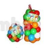 Шарики для игр и бассейна малые 6 см 40 шт. , большие 8 см 40 шт.