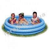 Басейн детский надувной хрустальный Intex 59416 114 25 см