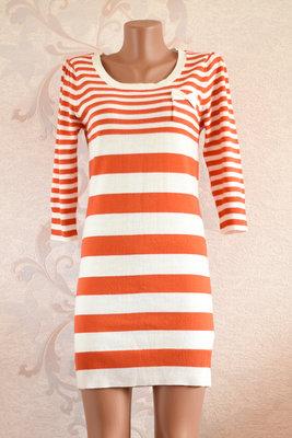 d7d948c1bbb4 Sale - 1 1 3 Яркое стильное полосатое платье с кармашком на груди ...