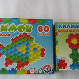 Детская мозаика Мозаика-Пазлы Килимок 40 и 80 деталей