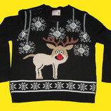 Новогодний свитер,размер EURO 42.Select