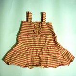 Платье на девочку, лето Пог 22 см, 1-3 лет