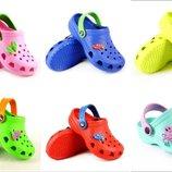Копия Crocs - кроксы детям, р. 20-29