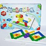 Мозаика 120 деталей 2см 4цвета Гвоздик Max Group 085 в коробке