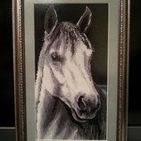 Вышитая картина Лошадь