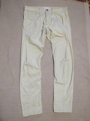 Стильные молодежные джинсы цвета койот River Island. Ирландия.32/32