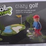 прикольная интерактивная настольная игра Crazy golf Tesco Англия оригинал