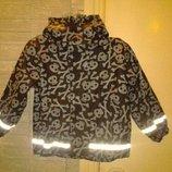 Курточка демисезон на флисе Wekids на рост 92-98, отличная вещь на дождливую прохладную погоду