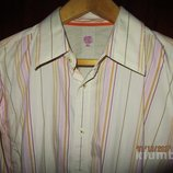 Рубашка дорогого бренда Burton с длинным рукавом, высокий рост.