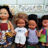 Куклы винтажные Германия,куба,гонконг 4 куклы одним лотом