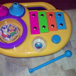 Развивающая панель барабан ксилофон