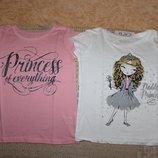Новые футболки, майки на девочку 3-16 лет от Childrens place