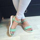 Женские босоножки сандали натуральная кожа